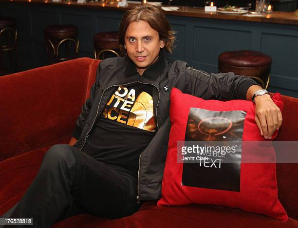 Jonathan Cheban attends the Invisible Text Mobile App Preview at the Soho House on August 14 2013 in New York City