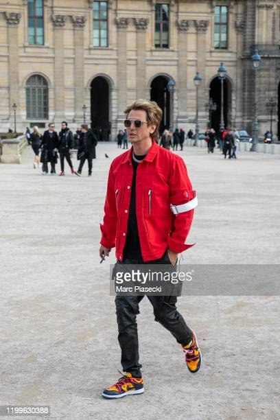 Jonathan Cheban attends the Off-White Menswear Fall/Winter 2020-2021 show as part of Paris Fashion Week on January 15, 2020 in Paris, France.