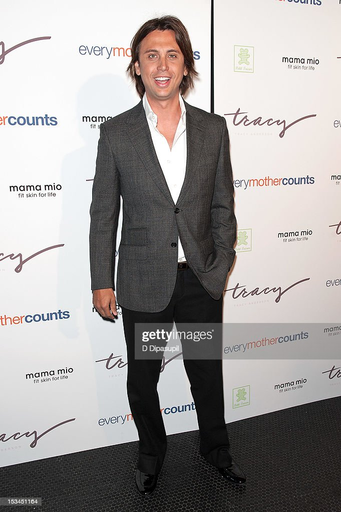 Jonathan Cheban attends The Tracy Anderson Method Pregnancy Project at Le Bain At The Standard on October 5, 2012 in New York City.