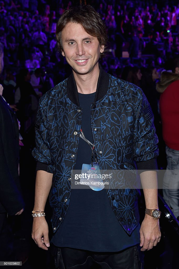 Jonathan Cheban attends Z100's Jingle Ball 2015 at Madison Square Garden on December 11, 2015 in New York City.