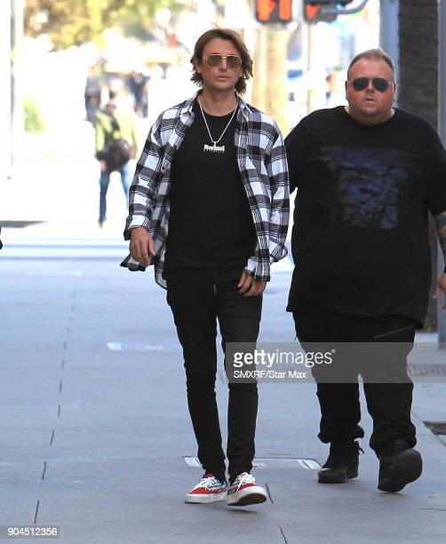Jonathan Cheban is seen on January 12 2018 in Los Angeles CA