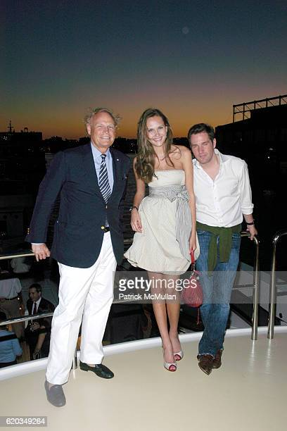 Jonathan Conrad Maryam Abbullina and Chris O'Neil attend SPACE ADVENTURE'S 10th ANNIVERSARY Celebration at Forbes Highlander Yacht on June 11 2008 in...