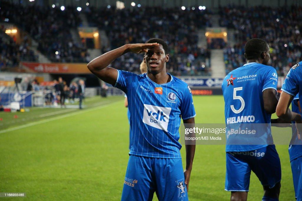 KAA Gent v KV Oostende - Jupiler Pro League : ニュース写真