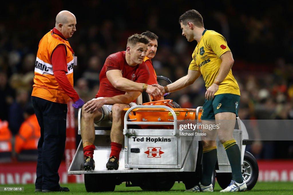 Wales v Australia - Under Armour Series 2017 : News Photo