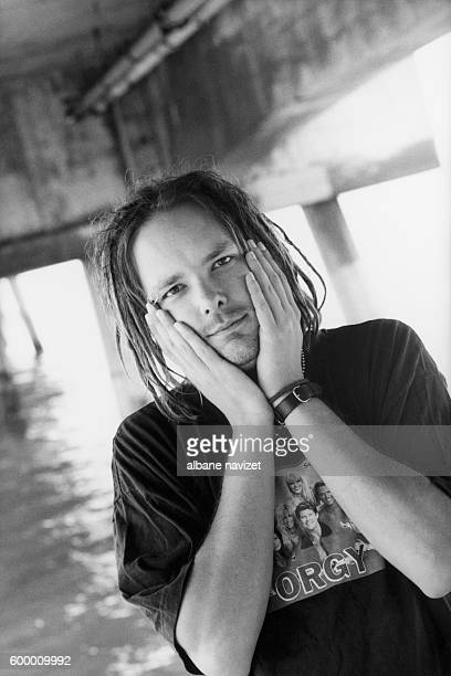 Jonathan Davis American leading vocalist and frontman for the nu metal band Korn