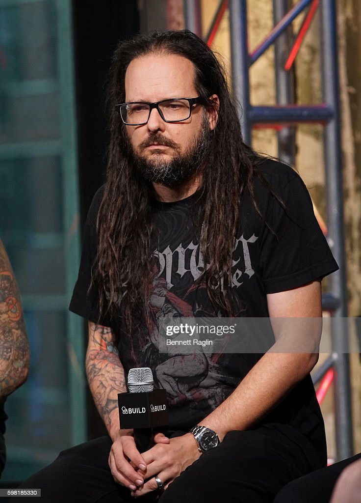Jonathan Davis attends the BUILD Series presents Korn discusses 'The Serenity of Suffering' at AOL HQ on August 31, 2016 in New York City.