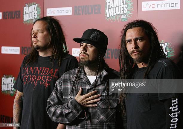 Jonathan Davis Fieldy and James 'Munky' Shaffer of Korn