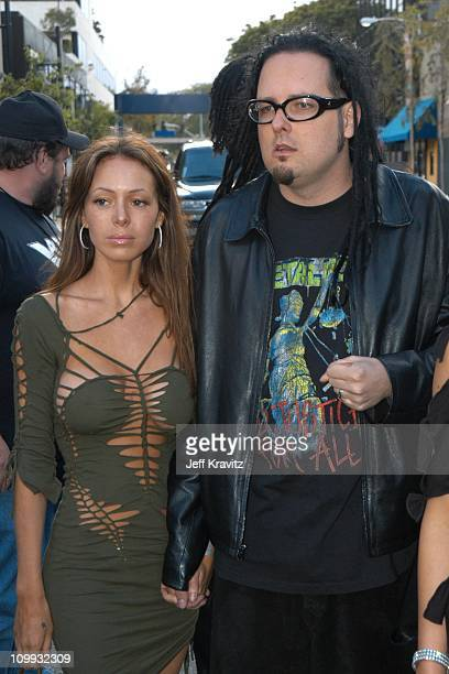 Jonathan Davis of Korn during MTV Icon Metallica Arrivals at Universal Studios Stage 12 in Universal City CA United States