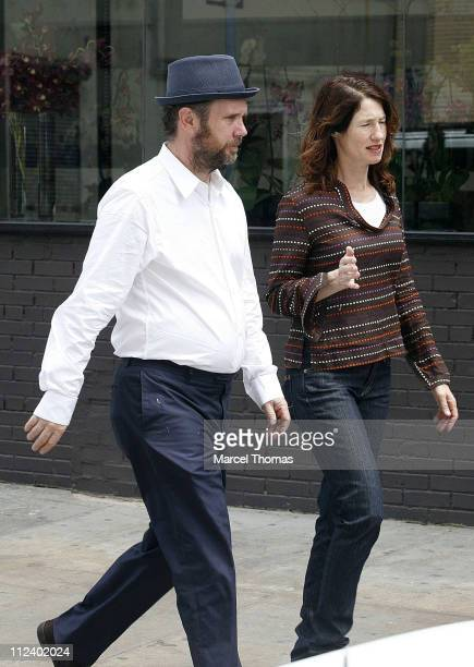 Jonathan Dayton and Valerie Faris during Director Jonathan Dayton and wife Valerie Faris sighting in the Meat packing district