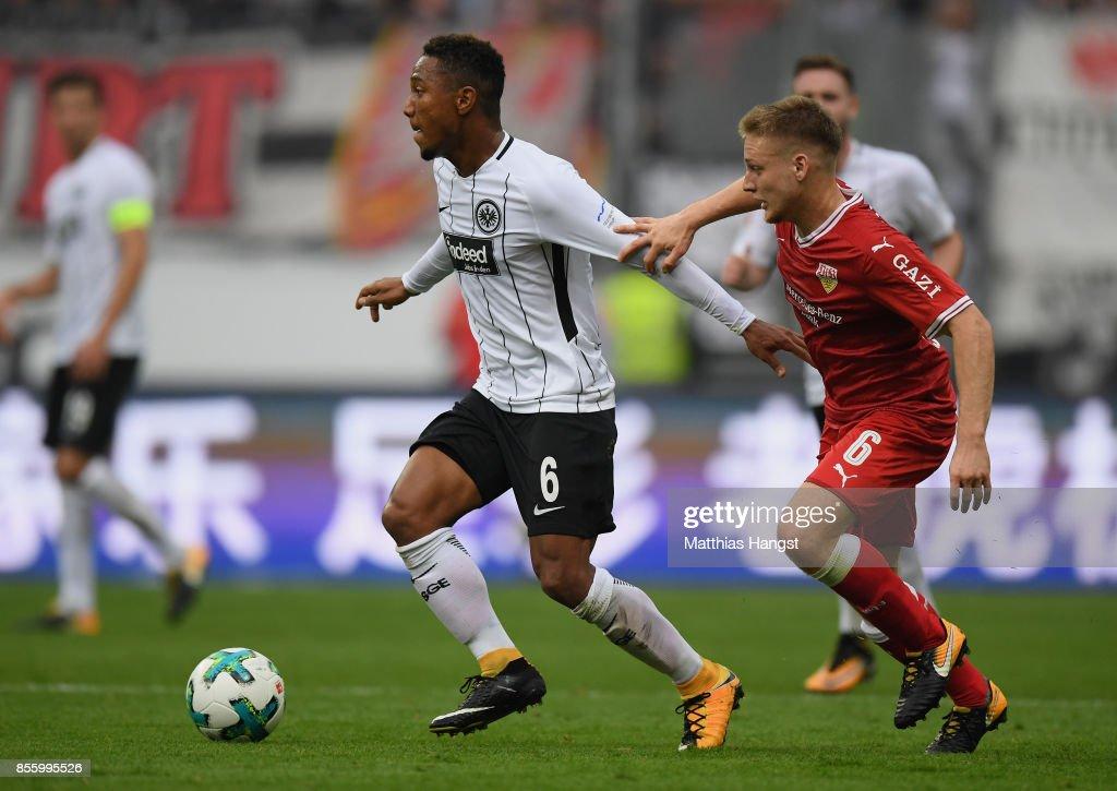 Eintracht Frankfurt v VfB Stuttgart - Bundesliga : Nachrichtenfoto
