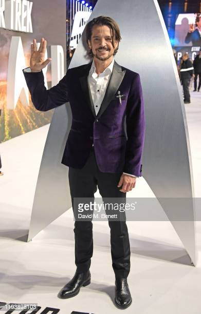 Jonathan Del Arco attends the European Premiere of Amazon Original Star Trek Picard at Odeon Luxe Leicester Square on January 15 2020 in London...