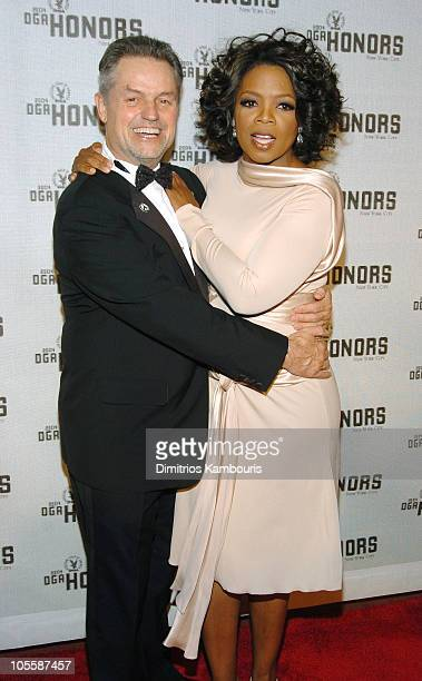 Jonathan Demme and Oprah Winfrey during DGA Announces Presenters and Guests for 5th Annual DGA Honors Arrivals at Waldorf Astoria in New York City...