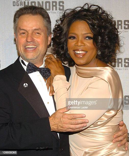Jonathan Demme and Oprah Winfrey during DGA Announces Presenters and Guests for 5th Annual DGA Honors at Waldorf Astoria in New York City New York...