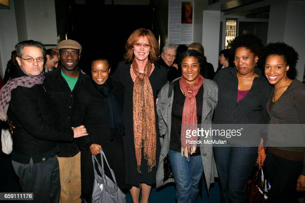 Jonathan Demme guest Quincy Tyler Bernstine Christine Lahti Lynn Nottage Saidah Arrika Ekulona and Cherise Boothe attend Benefit Performance for...