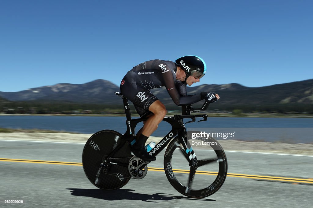 AMGEN Tour of California - Stage 6 Men's: Big Bear Lake TT