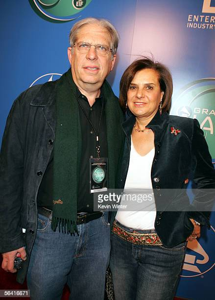 Jonathan Dolgen and his wife Susan arrive at Grammy Jams' celebration of Stevie Wonder at the Orpheum Theater on December 10 2005 in Los Angeles...