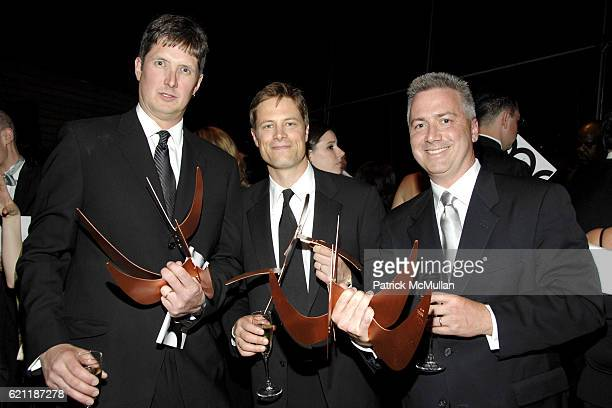 Jonathan Dorn David Willey and Steve Madden attend The American Society for Magazine Editors Presents THE 43RD ANNUAL NATIONAL MAGAZINE AWARDS at...
