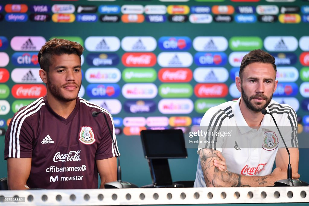 Mexico Training Session & Press Conference - FIFA World Cup Russia 2018