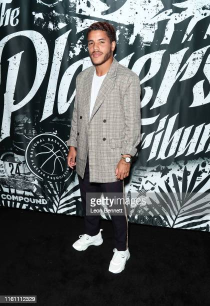 Jonathan dos Santos attends Players' Night Out 2019 hosted by The Players' Tribune featuring the NBPA's Players' Voice awards at The Dream Hotel on...