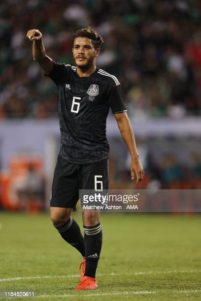 Jonathan dos Santos of Mexico during the 2019 CONCACAF Gold Cup Final between Mexico and United States of America at Soldier Field on July 7 2019 in...