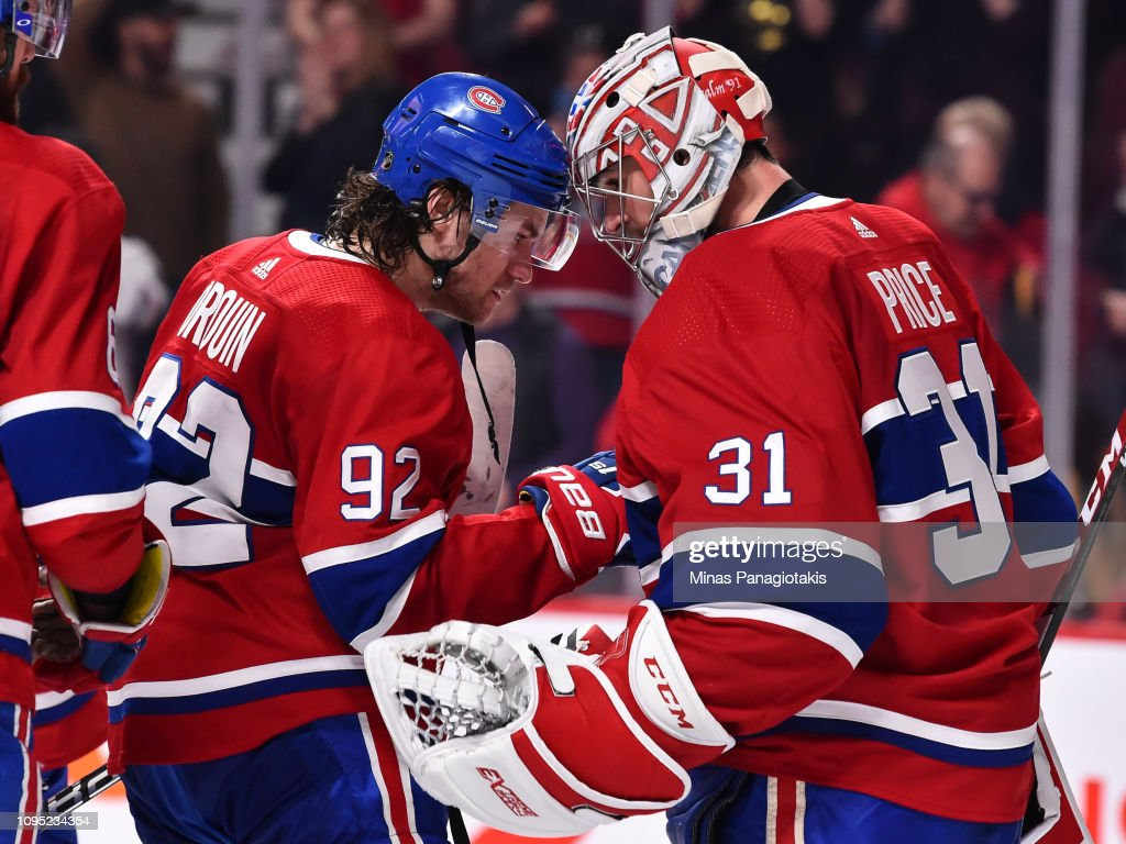 Winnipeg Jets v Montreal Canadiens : News Photo
