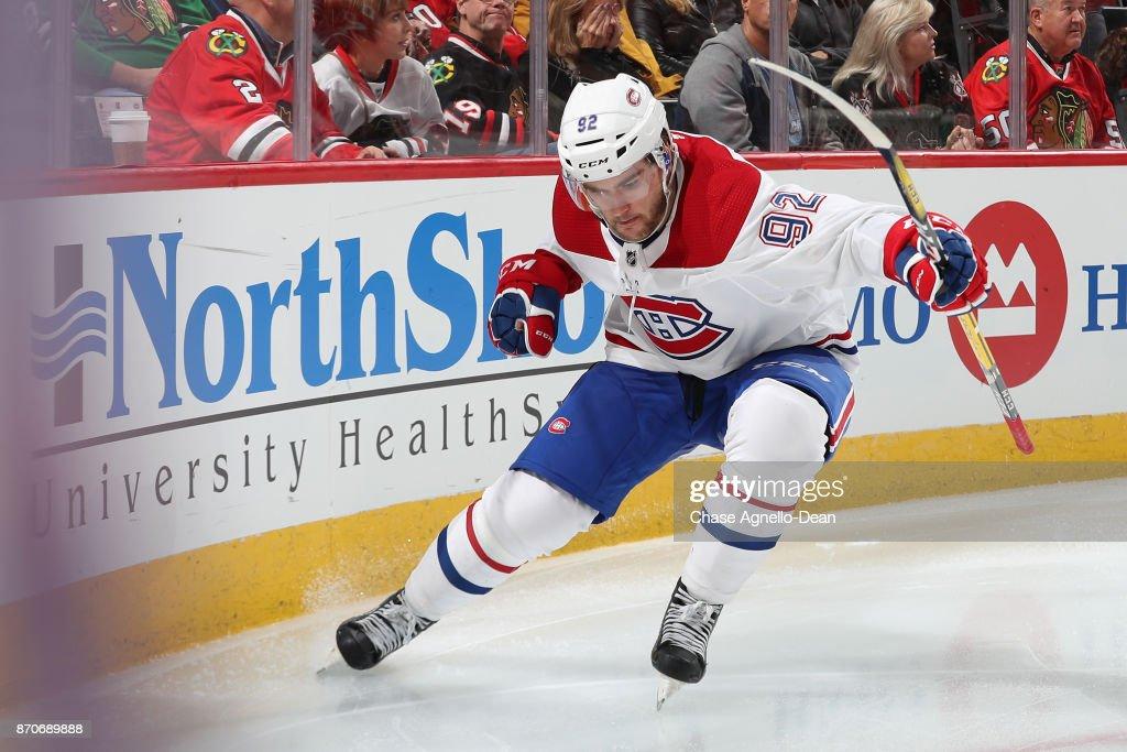 Montreal Canadiens v Chicago Blackhawks