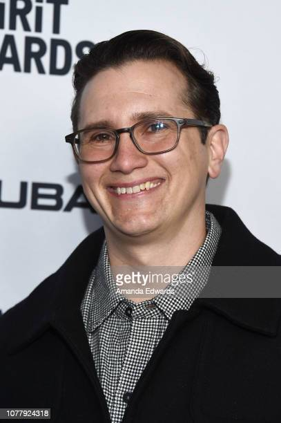 Jonathan Duffy attends the 2019 Film Independent Spirit Awards nominee brunch at BOA Steakhouse on January 5 2019 in West Hollywood California