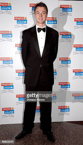 Jonathan Evans attends the Manchester United `United for UNICEF' Gala Dinner at Manchester United Museum on November 9 2008 in Manchester England