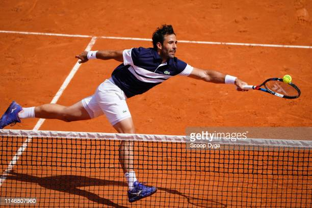 Jonathan Eysseric of France during the Day 4 of Roland Garros on May 29 2019 in Paris France