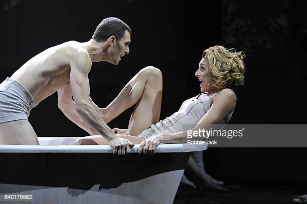 Jonathan Goddard as Paul and Zenaida Yanowsky as Lise in the Royal Ballet's production of Phillip Glass and Javier De Frutos's Les Enfants Terribles...