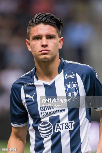 Jonathan Gonzalez of Monterrey pose prior to the 6th round match between Monterrey and Toluca as part of the Torneo Apertura 2017 Liga MX at BBVA...