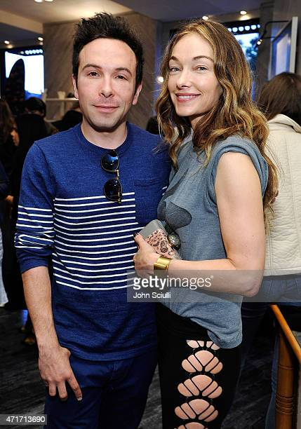 Jonathan Grahm and Kelly Wearstler celebrate the launch of Regime des Fleurs perfume at Kelly Wearstler Flagship Boutique in Los Angeles with...