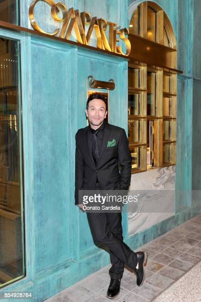 Jonathan Grahm celebrates the Compartes Chocolatier Century City Flagship Store Opening on September 27 2017 in Los Angeles California