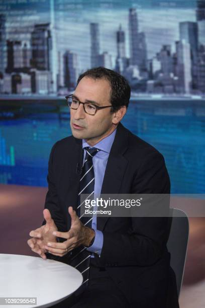 Jonathan Gray president of Blackstone Group LP speaks during a Bloomberg Television interview in New York US on Monday Sept 24 2018 Blackstone is...