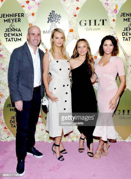 Jonathan Greller Emmanuelle Chriqui Jenna Dewan Tatum and Kelly Sawyer Patricof at Giltcom Jennifer Meyer Jenna Dewan Tatum's Exclusive Jewelry...