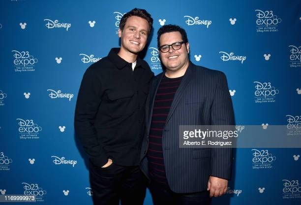 Jonathan Groff and Josh Gad of 'Frozen 2' took part today in the Walt Disney Studios presentation at Disney's D23 EXPO 2019 in Anaheim, Calif....