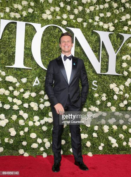 Jonathan Groff attends the 2017 Tony Awards at Radio City Music Hall on June 11 2017 in New York City
