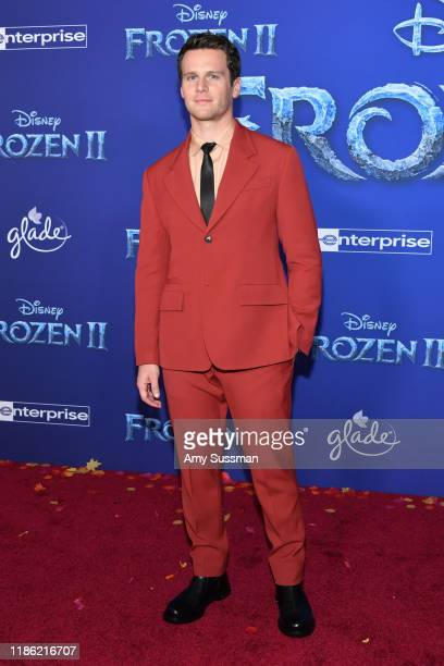 Jonathan Groff attends the premiere of Disney's Frozen 2 at Dolby Theatre on November 07 2019 in Hollywood California