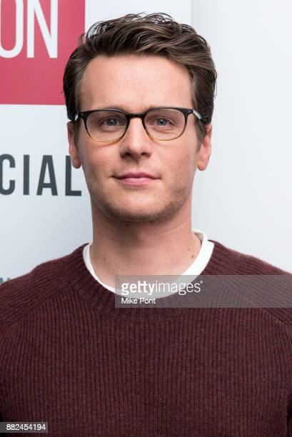 Jonathan Groff attends the SAGAFTRA Foundation Conversations 'Mindhunter' at SAGAFTRA Foundation Robin Williams Center on November 29 2017 in New...