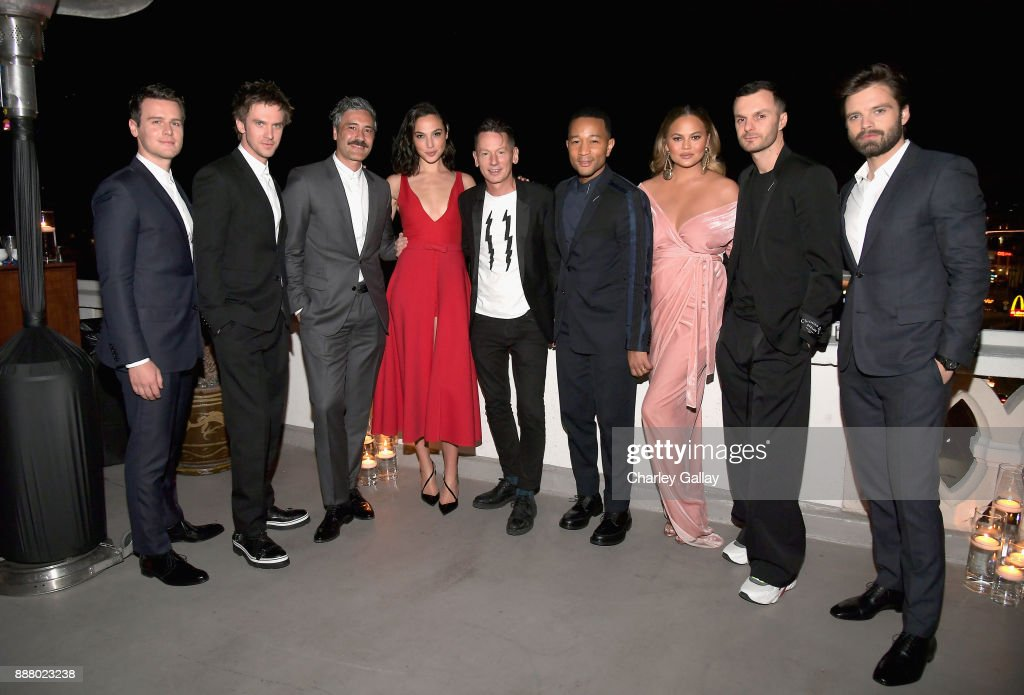 GQ And Dior Homme Host A Private Dinner In Celebration Of The 2017 GQ Men Of The Year Party : News Photo