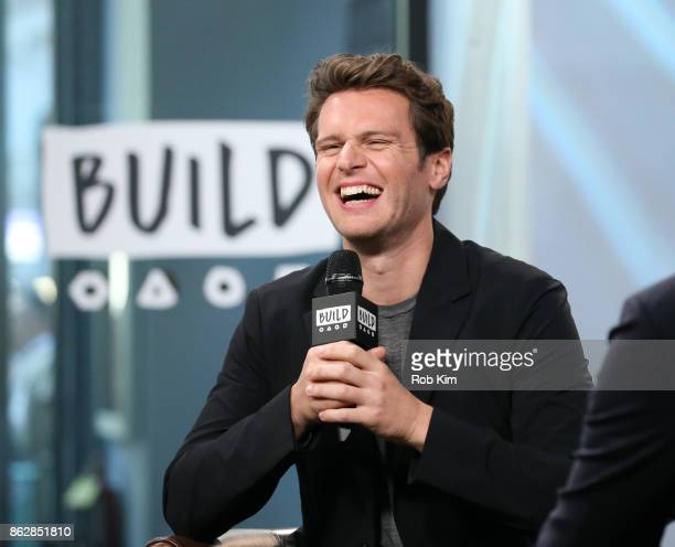 Jonathan Groff discusses 'Mindhunter' at the Build Series at Build Studio on October 18 2017 in New York City