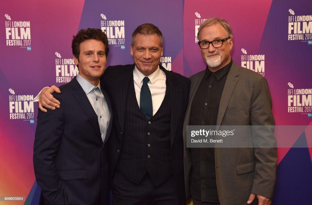 "LFF Connects Special Presentation: ""Mindhunter"" European Premiere - 61st BFI London Film Festival - VIP Arrivals"