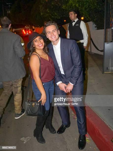 Jonathan Groff is seen on December 07 2017 in Los Angeles California