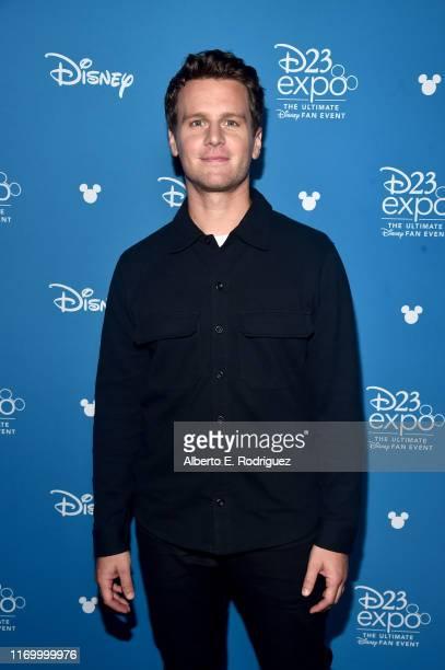Jonathan Groff of 'Frozen 2' took part today in the Walt Disney Studios presentation at Disney's D23 EXPO 2019 in Anaheim Calif 'Frozen 2' will be...