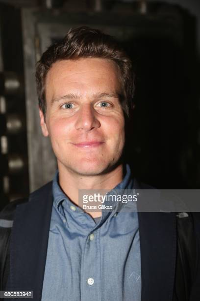 Jonathan Groff poses at An American Daughter Benefit Reading at The Tony Kiser Second Stage Theatre on May 8 2017 in New York City