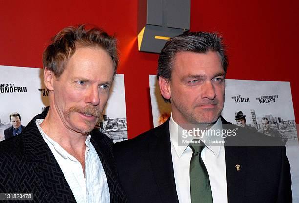 Jonathan Hensleigh and Ray Stevenson attend the premiere of 'Kill the Irishman' at Landmark's Sunshine Cinema on March 7 2011 in New York City