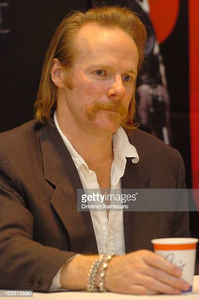 """Jonathan Hensleigh, director of """"The Punisher during 2004 ShoWest - """"The Punisher"""" Press Conference at Paris Hotel in Las Vegas, Nevada, United..."""