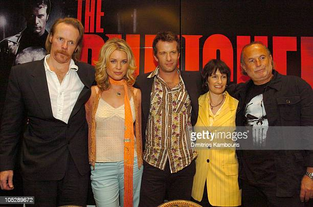 Jonathan Hensleigh, director, Rebecca Romijn Stamos, Thomas Jane, Gale Anne Hurd, producer and Avi Arad, Chairman/CEO of Marvel Studios and producer
