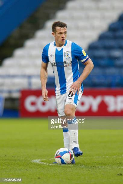 Jonathan Hogg of Huddersfield Town during the Sky Bet Championship match between Huddersfield Town and Swansea City at John Smith's Stadium on...