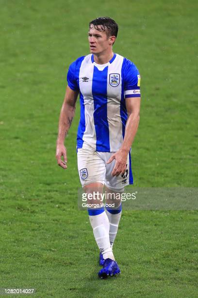 Jonathan Hogg of Huddersfield Town looks on during the Sky Bet Championship match between Huddersfield Town and Preston North End at John Smith's...